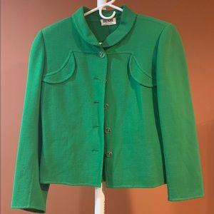 Bill Blass Vintage Green Jacket